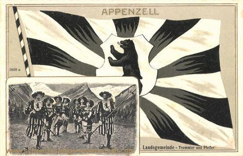 Appenzell, Landsgemeinde, Trommler und Pfeifer