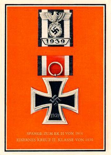 Spange zum EK II von 1914 und Eisernes Kreuz II. Klasse von 1939