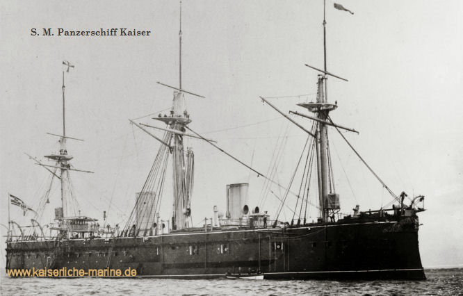 S.M.S. Kaiser, Panzerfregatte