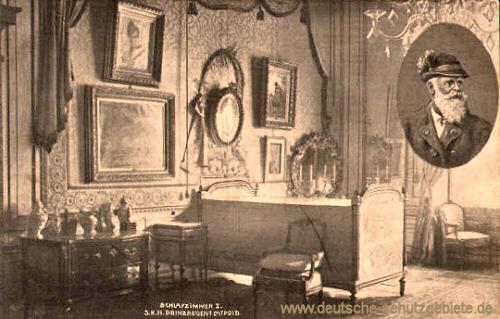 Schlafzimmer S. K. H. Prinzregent Luitpold