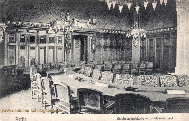 Berlin, Reichstagsgebäude - Bundesrats-Saal