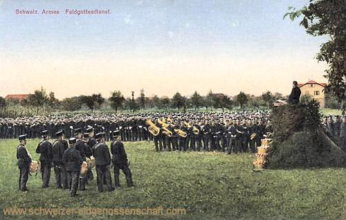 Schweizer Armee, Feldgottesdienst