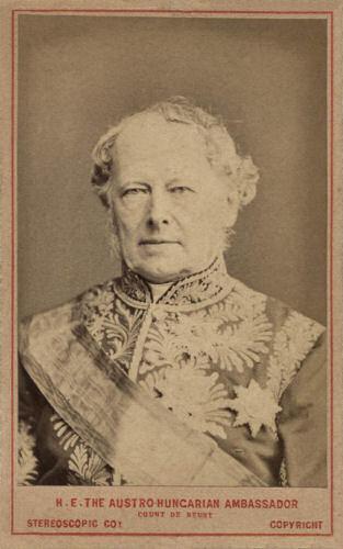 Beust als österreichisch-ungarischer Botschafter