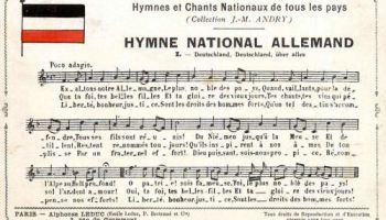 älteste Nationalhymne