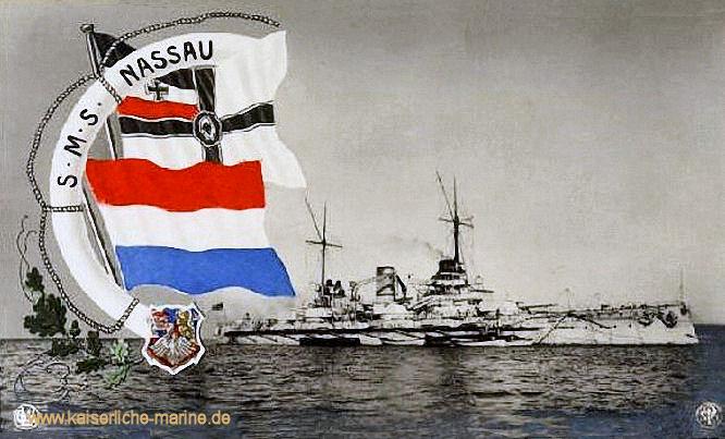 S.M.S. Nassau, Linienschiff