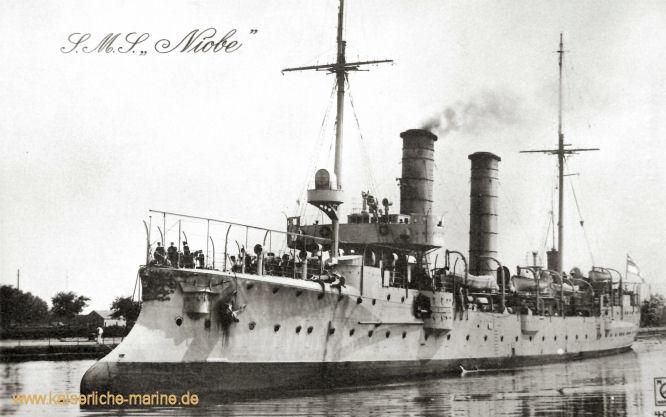 S.M.S. Niobe, Kleiner Kreuzer