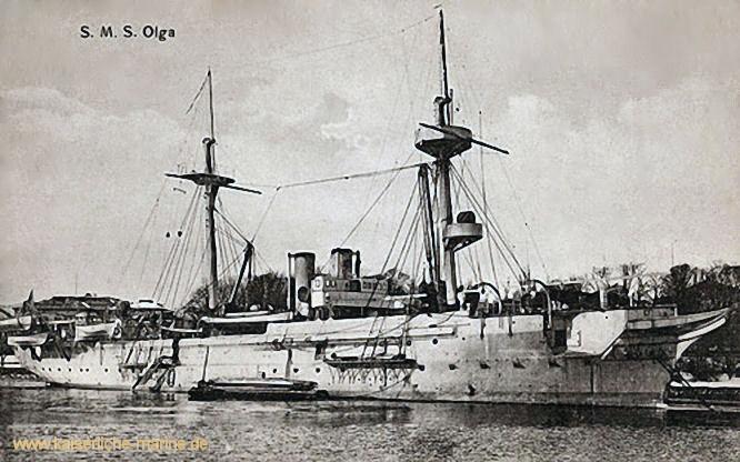 S.M.S. Olga, Kreuzerkorvette