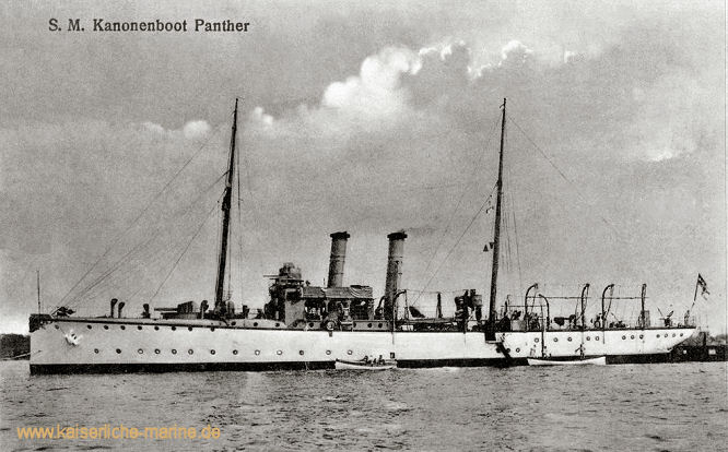 S.M.S. Panther, Kanonenboot