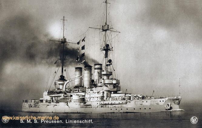 S.M.S. Preußen, Linienschiff