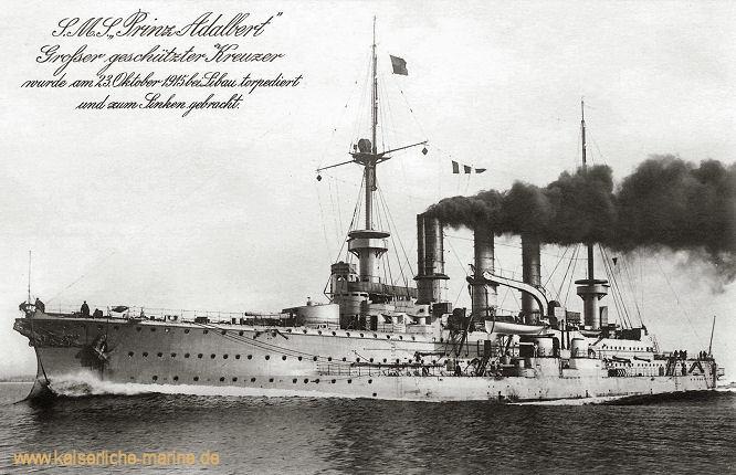 S.M.S. Prinz Adalbert, Großer Kreuzer