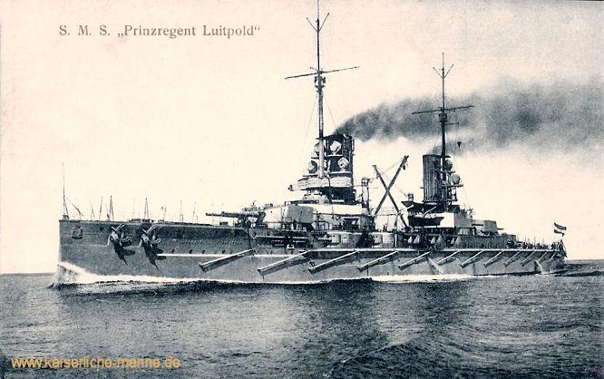 S.M.S. Prinzregent Luitpold, Linienschiff