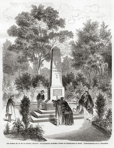 Denkmal für die Korvette Amazone in Berlin
