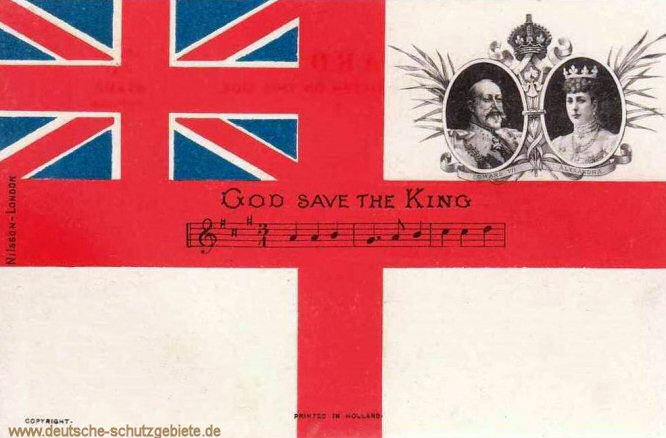 God save the King!