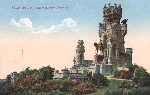 Hohensyburg, Kaiser-Wilhelm-Denkmal