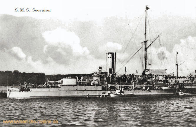 S.M.S. Scorpion, Panzerkanonenboot