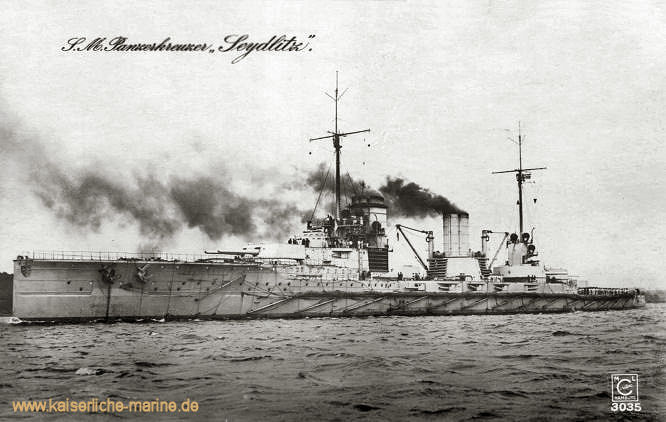 S.M.S. Seydlitz, Großer Kreuzer