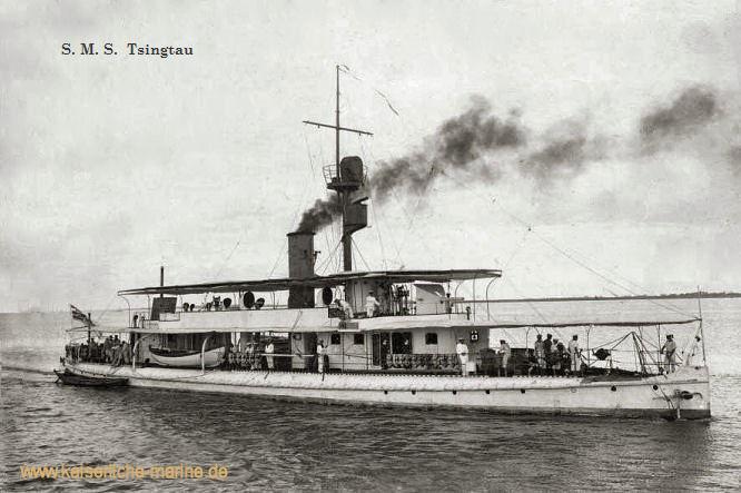 S.M.S. Tsingtau, Flusskanonenboot