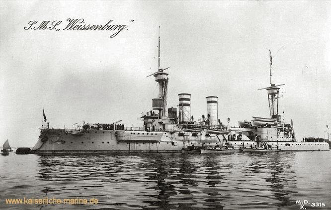 S.M.S. Weissenburg, Linienschiff