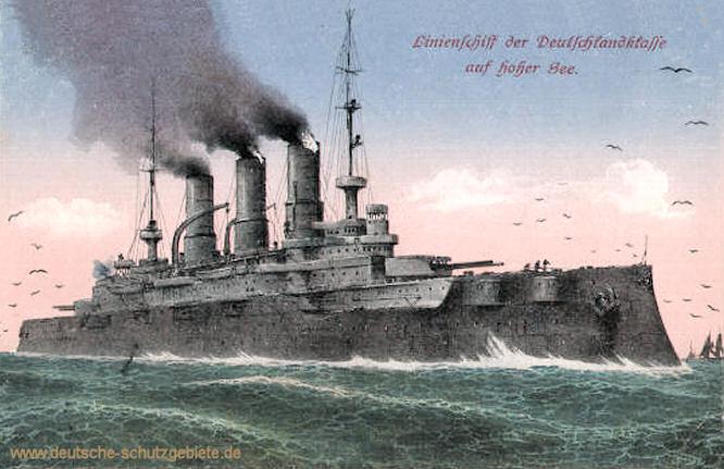 Linienschiff der Deutschlandklasse
