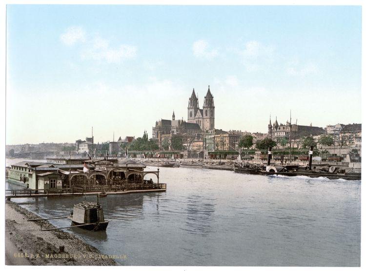 Magdeburg v. d. Citadelle
