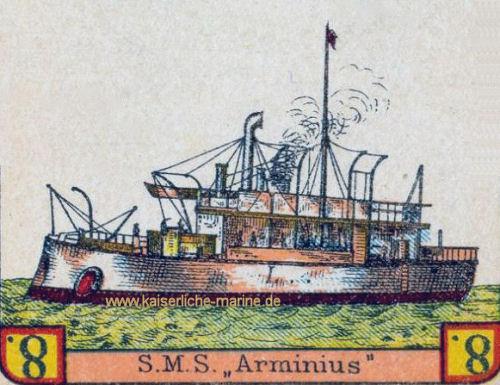 S.M.S. Arminius (Spielkarte)