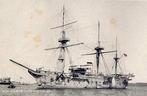 S.M.S. Blücher, Torpedoschulschiff, Flottenflaggschiff 1896