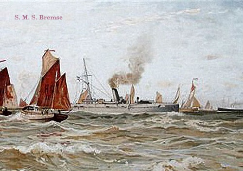 S.M.S. Bremse, 1884