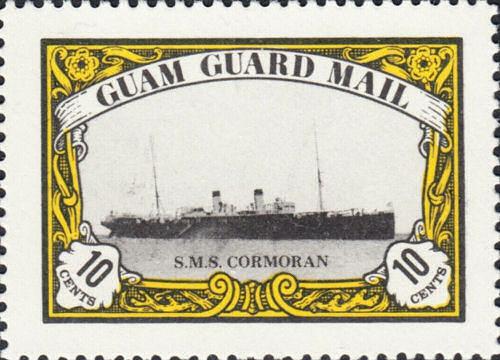 S.M.S. Cormoran, Hilfskreuzer, Guam Guard Mail 1978