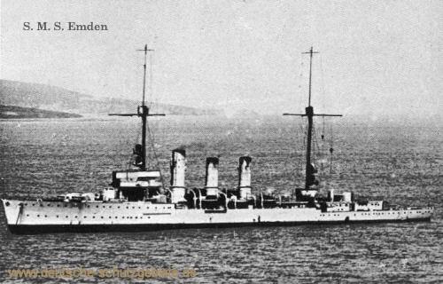 S.M.S. Emden, 1916