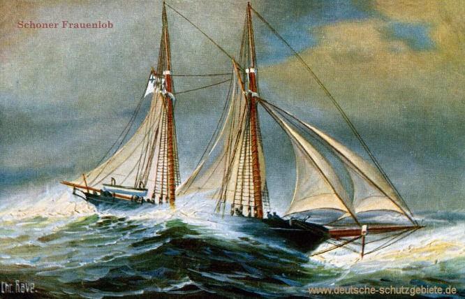 S.M.S. Frauenlob, Segelschoner