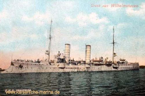 S.M.S. Frauenlob in Wilhelmshaven