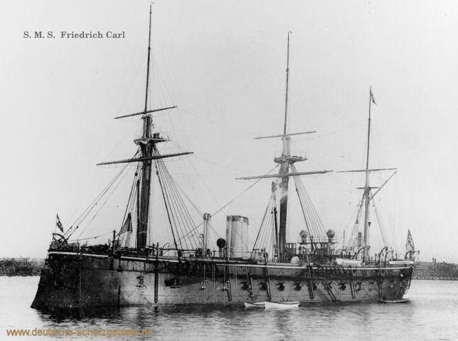 S.M.S. Friedrich Carl, Panzerfregatte
