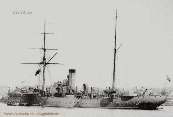 S.M.S. Geier als USS Schurz