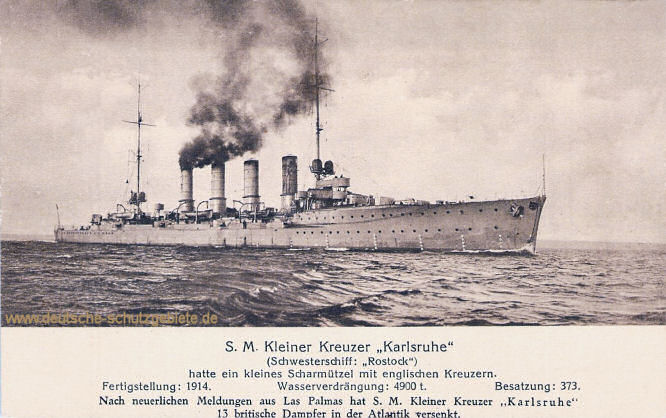 S.M. Kleiner Kreuzer Karlsruhe