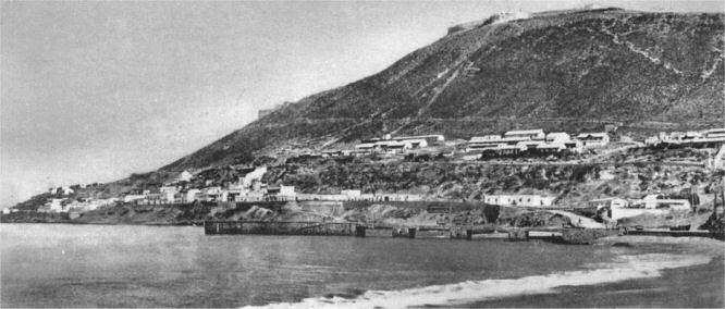 Agadir, Hafen und Festung (Kasba) 1911
