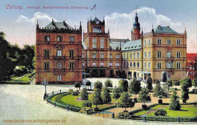 Coburg, Herzogliches Residenzschloss Ehrenburg