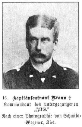 Kapitänleutnant Braun