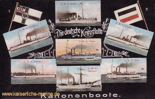 Die deutsche Kriegsflotte - Kanonenboote