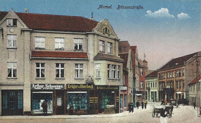 Memel, Börsenstraße