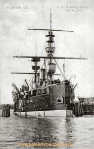S.M.S. König Wilhelm bei Mürwik