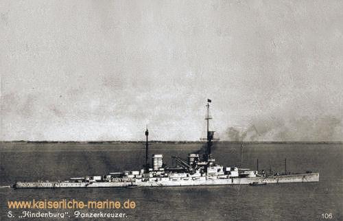 S.M.S. Hindenburg - Panzerkreuzer