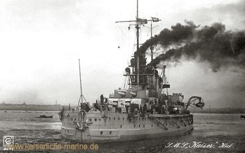S.M.S. Kaiser, Heck