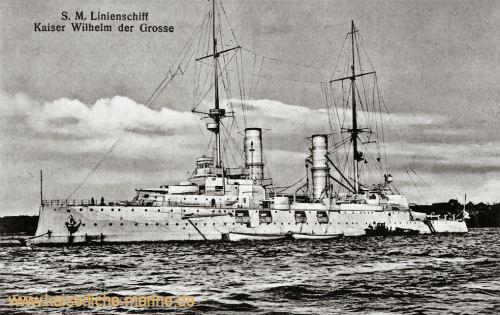S.M.S. Kaiser Wilhelm der Große, Linienschiff