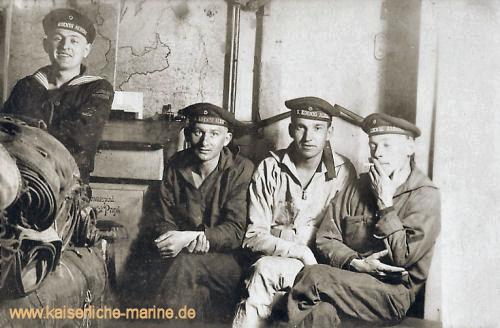 S.M.S. König Albert, Besatzungsmitglieder