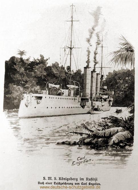 S.M.S. Königsberg im Rufidji