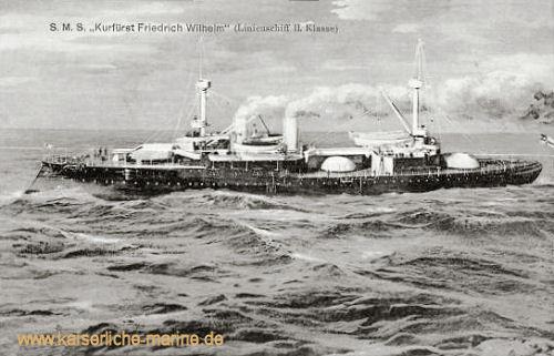 S.M.S. Kurfürst Friedrich Wilhelm - Linienschiff II. Klasse