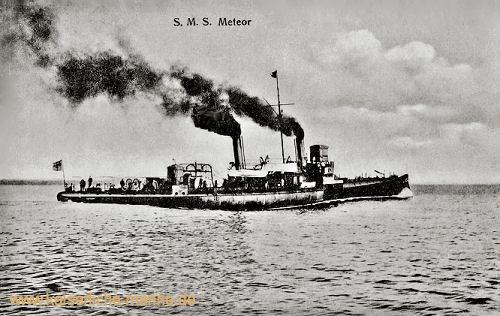 S.M.S. Meteor, Aviso