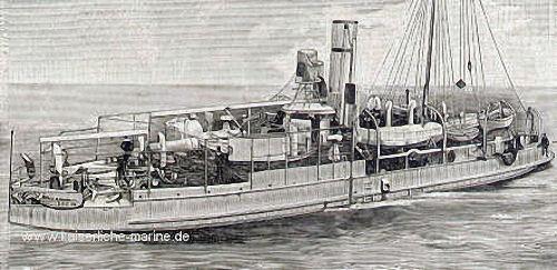 S.M.S. Mücke, Panzerkanonenboot