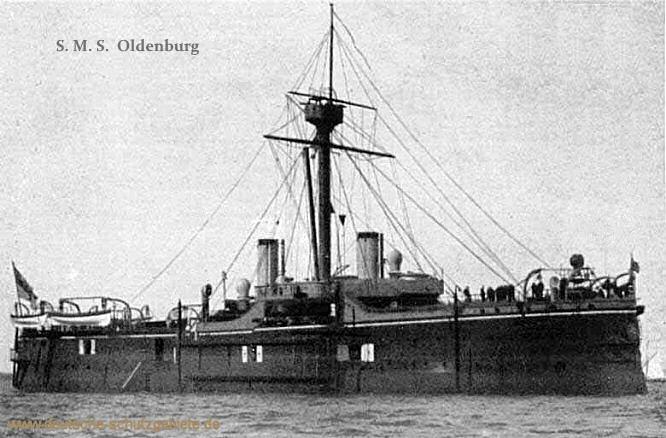 S.M.S. Oldenburg, Panzerkorvette