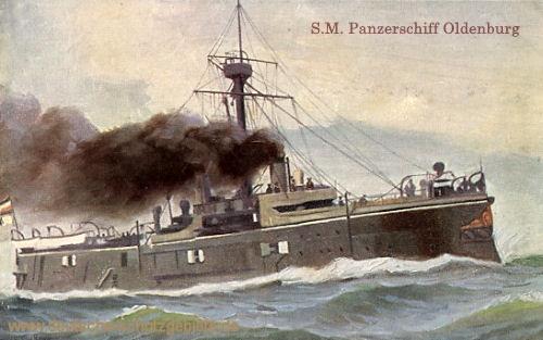 S.M.S. Oldenburg, Panzerschiff
